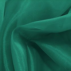 dark-green-organza